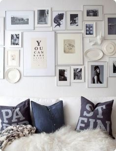 grey wall art