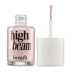 Shop Benefit Cosmetics' High Beam Liquid Face Highlighter at Sephora. It can be used as a spot highlighter or to create an allover, radiant glow.