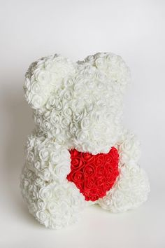 Artificial Flowers Red Teddy Bear Artificial Flowers Red Teddy Bear Luxflowerbox luxflowerbox Luxflowerbox The flowers and a soft toy both make an excellent Valentine gift nbsp hellip White Teddy Bear, Flower Boxes, Artificial Flowers, Handicraft, Valentine Gifts, Decorative Items, Easy Crafts, Blog, Throw Pillows