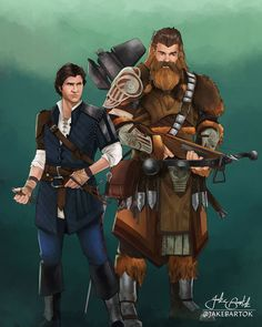 Medieval Star Wars Fantasy Fan Art - Media Chomp Star Wars Concept Art, Star Wars Fan Art, Star Trek, Star Wars Jedi, Star Wars Pictures, Star Wars Images, Han Solo And Chewbacca, Fantasy Star, Arte Nerd