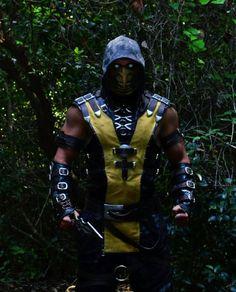 Scorpion costume (Mortal kombat X)