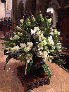 Pulpit flowers
