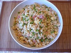 Unfried Chinese  Rice from Food.com: I love Chinese rice and this is sooooo goood without all the oil.