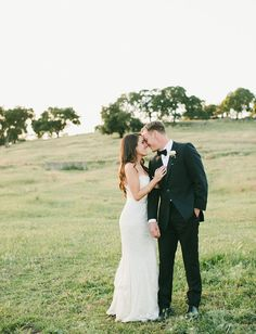 Gold + Pink Cali Ranch Wedding: Emma + Dan