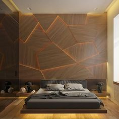 Minimalist Bedroom Design for Modern Home Decor - Di Home Design Bedroom Wall Texture, Men Apartment, Apartment Ideas For Men, Apartment Projects, Apartment Interior, Interior Walls, Bedroom Apartment, Apartment Living, Kitchen Interior