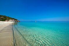 Sani Beach Halkidiki, near Thessaloniki, Hellas Paradise Wallpaper, Beach Wallpaper, Greece Wallpaper, Hd Wallpaper, Thessaloniki, Sani Beach, Places To Travel, Places To See, Strand Wallpaper
