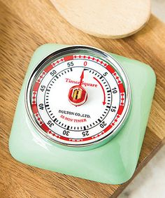 Look at this #zulilyfind! Mint Green Retro Timer #zulilyfinds