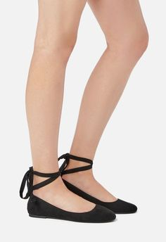 1f74fa31c01 Marcelina Flat in Black - Get great deals at JustFab Black Flats