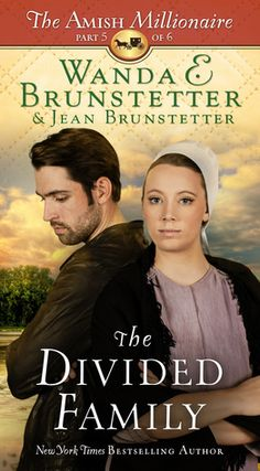 """Read """"The Divided Family The Amish Millionaire Part by Wanda E. Brunstetter available from Rakuten Kobo. Join New York Times bestselling author Wanda E. Brunstetter along with Jean Brunstetter in Holmes County for a dramatic . Books To Buy, I Love Books, New Books, Books To Read, Reading Books, Library Books, Free Reading, Reading Lists, Book Lists"""