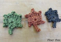 Episode 122: How To Crochet A One Round Fall Oak Leaf