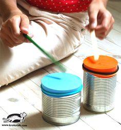 Craft Idea: Kid's Drum Tutorial  http://www.thecraftideas.com/kids/craft-idea-kid%E2%80%99s-drum-tutorial