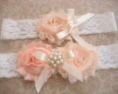 blush garter - Google Search