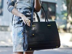 The New York Laptop Bag is as essential as your favorite little black dress.