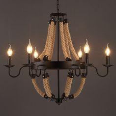 Pendant Lights Ceiling Lights & Fans Industrious Loft American Retro Pendant Lamp Pendant Industrial Style Single Head Restaurant
