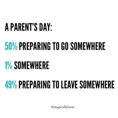 Let's go!!! Let's leave!!! #momlife Via Tragic Ally