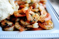 Spicy Lemon Garlic Shrimp, the Pioneer Woman
