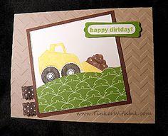 construction card for boy birthday