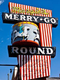 Margie's Merry Go Round.......Lone Pine, California
