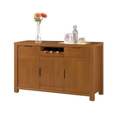 H&D 喬許4.5尺餐櫃簡約自然典雅風,打造溫暖亮麗的居家空間 簡易實用收納設計,碗盤收納整理的小幫手 古典優雅造型設計,任何風格都好搭配 專人送到府/簡易組裝