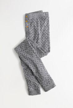 Madewell leggings in heart flip print.