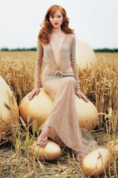 The Look: Lily Cole photographed by Tim Walker #magical eggs