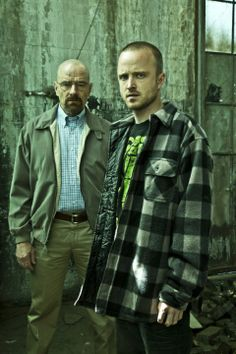 Walter and Jesse   Breaking Bad
