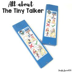 The Tiny Talker Communication Device - Simply Special Ed Special Ed Teacher, Special Needs Students, Teaching Special Education, Teaching Tools, Teaching Resources, Teaching Technology, Classroom Routines, Classroom Tools, Autism Classroom