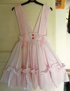 ruffle dress diy