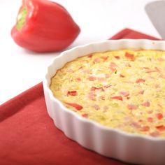 Recettes santé | Nutrisimple | Omelette au jambon Nutrition, Cheeseburger Chowder, Ham, Soup, Omelettes, Quiches, Desserts, Food, Pumpkin Bread
