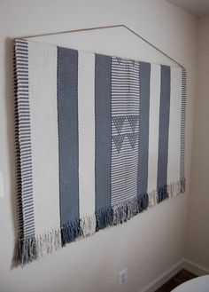 How to Hang a Large, Heavy Rug on The Wall — Apartment Therapy Reader Project Tutorials | Apartment Therapy