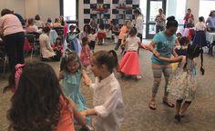 Everybody dance!  - Fabulous 50's Social - Spring Break 2015