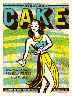 GigPosters.com - Cake - Polynesian Paradise - Lucky Stars, The