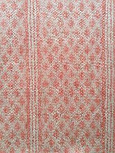 Rustic Lindi Border Pink Fabric Houses, Fabrics, Rustic, Pink, Color, Design, Home Decor, Art, Tejidos