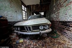 images of lost cars | Lost BMW 2800 in Belgium | Wasted Cars | Pinterest | Belgium, Bmw and ...