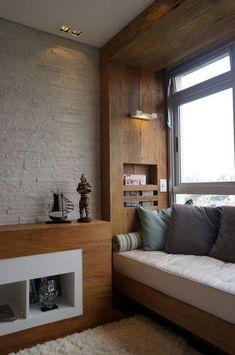 Stunning Window Seat Ideas - Home to Z Home Room Design, Home Interior Design, Interior Architecture, House Design, Lobby Interior, Living Room Decor, Bedroom Decor, Living Room Modern, Bedroom Ideas