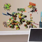 Show TMNT Wall Decals and Stickers! Teenage Mutant Ninja Turtle wall decor featuring Raphael, Donatello, Leonardo, and Michaelangelo Teenage Mutant Ninja Turtles, Tmnt, Bowser, Wall Decals, Stickers, Fictional Characters, Wall Stickers, Sticker, Fantasy Characters