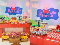 Meu Dia D Mãe - 04 anos Rebeca - tema Peppa Pig - Fotos Maurício Messa (2)
