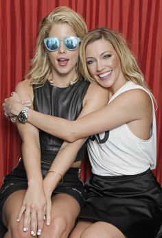 Arrow - Emily Bett Rickards & Katie Cassidy for TV Guide Magazine at SDCC