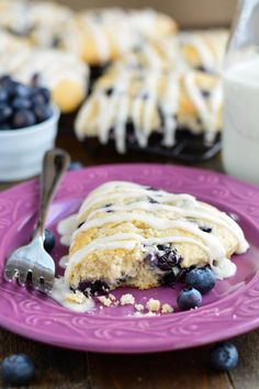 Buttery, moist, and tender homemade Blueberry Scones are perfectly sweetened and wonderful for Sunday brunch!