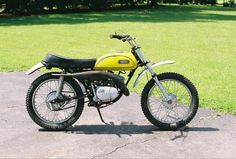 Yamaha 90cc HT-1MX  First race bike