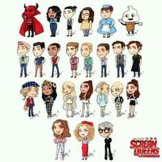 Scream Queens, Art Memes, American Horror Story, Marvel, Comics, American Horror Stories, Cartoons, Comic, Comics And Cartoons