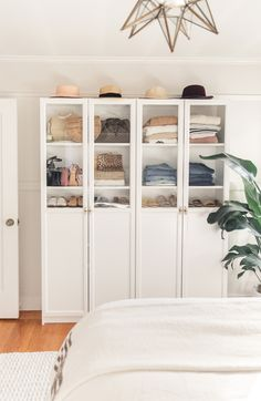 After posting some videos of this Ikea piece to my Instagram two weeks ago, I received so many questions asking what type of cabinet it was and if I could share some more photos with you. Just to recap, Daniel and I share a very small closet and we really weren't maximizing the storage space …