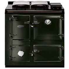 Rayburn 200 Series Cast Iron Range Cooker with Domestic Hot Water DHW and Central Heating Boiler Heatranger Model. Solid Fuel & Wood Burning Rayburn Cooker and boiler for domestic hot water and radiators. Rayburn Cookers, Kiln Dried Logs, Wood Fuel, Range Cooker, Blue Wood, Central Heating, Heating Systems, Cast Iron, Chuck Box