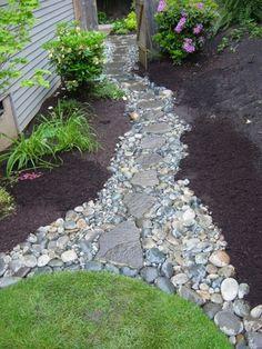 gartenweg anlegen - die vorteile der ziegel und klinker | holz, Garten und erstellen