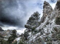 Snow Photos: Alcoy (Alicante) Spain