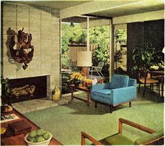 From the Better Homes for All America series in Better Homes and Gardens 1963