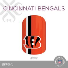 NFL Collection by Jamberry Cincinnati Bengals