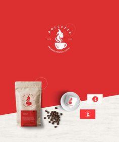 Dolcezza - Brand Identity for sale! Coffee Logo, Coffee Branding, Coffee Shop, Italian Coffee, Logo Design, Graphic Design, Olive Oils, Art Director, Logo Inspiration