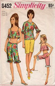 Simplicity 60s Sewing Pattern Misses by AdeleBeeAnnPatterns, $8.00