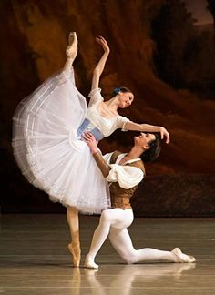 Svetlana Zakharova and Vladislav Lantratov in Giselle at The Mariinsky Theatre